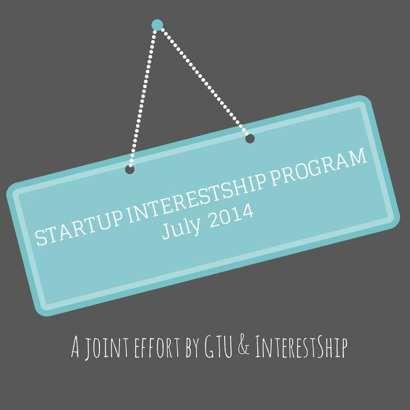 STARTUP INTERESTSHIP PROGRAMJuly 2014