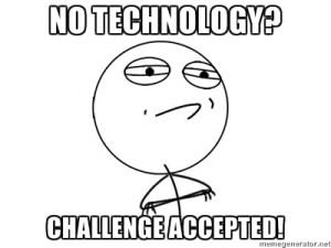 No Technolgy on Weekend